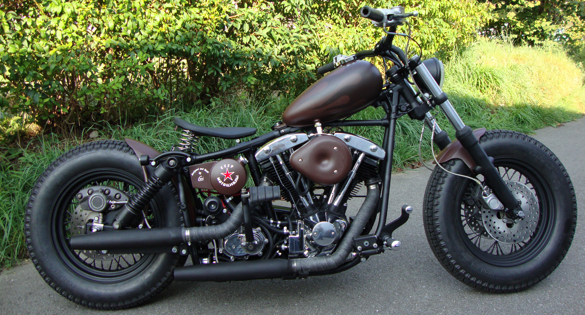 bobber umbau cb 0524 made by cccp motorcycles gmbh malters. Black Bedroom Furniture Sets. Home Design Ideas